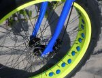 Fat Tire AT Bike Neon Yellow Rims and Rim Holes For Better Rotational Speed